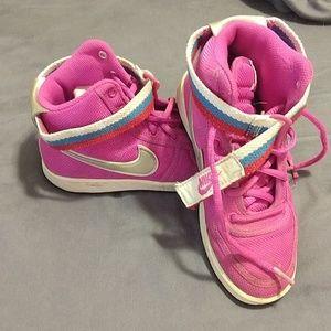 Girls High Top Nike Sneakers